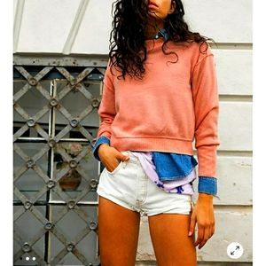 Free people Kora cashmere crew neck sweater